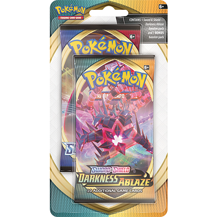 Pokemon TCG: Sword & Shield Darkness Ablaze Celebration 2 Booster Pack