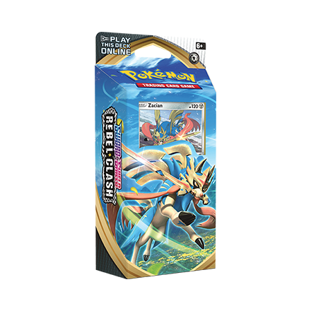 Pokemon TCG: Sword & Shield Rebel Clash Zacian Theme Deck