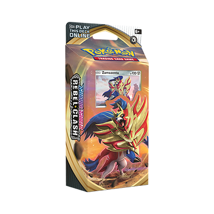 Pokemon TCG: Sword & Shield Rebel Clash Zamazenta Theme Deck