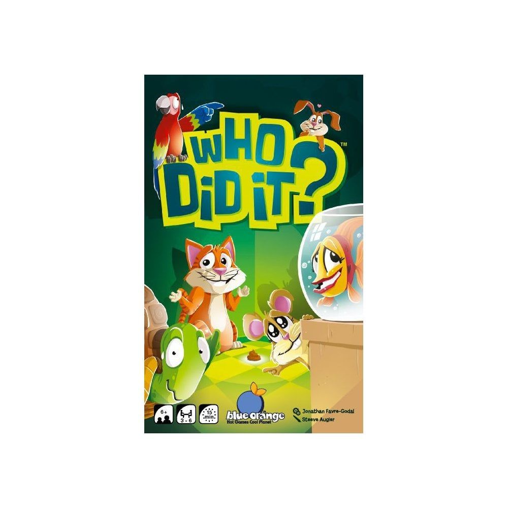 Who Did It? | Board Games | Black Star Games | UK