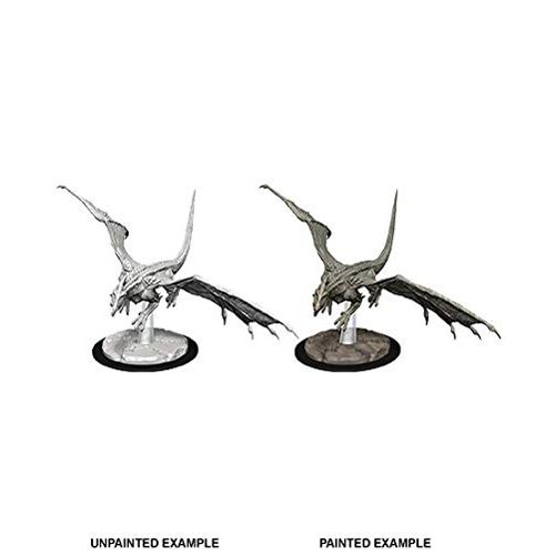 Young White Dragon: D&D Nolzur's Marvelous Unpainted Miniatures