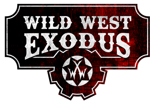 Wild West Exodus game logo